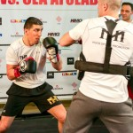 Marco Huck vs. Ola Afolabi – Öffentliches Box-Training