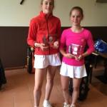 Leonie Hoppe: 2. Platz im Einzel und Meistertitel im Doppel