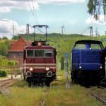 Zur Saisoneröffnung mit der Landeseisenbahn Lippe