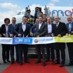 Premiere der neuen deutschen Fluggesellschaft