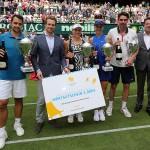 Angelique Kerber / Nicolas Kiefer gewinnen Schauinsland-Reisen Champions Trophy