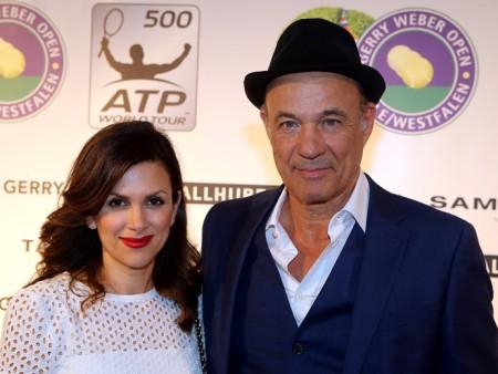 GWO Fashionnight_15-Heiner Lauterbach und Ehefrau Viktoria