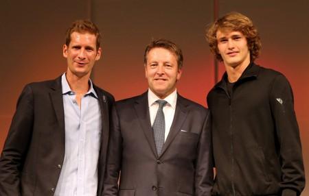 GWO-Fashionnight_6: Florian Mayer - Ralf Weber - Alexander Zverev