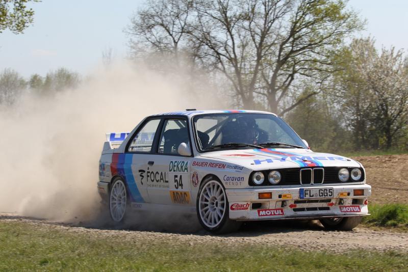 Kämpft im ADAC Rallye Masters um WM-Tickets: Timo Grätsch im BMW M3