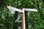 """""""Weg für Genießer"""" genaue Richtung"""