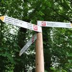 """""""Weg für Genießer"""" Wegweiser sorgen für bessere Orientierung"""