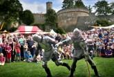 Ritterkämpfe gehören jedes Jahr zu den beliebten Programmpunkten beim Sparrenburgfest. [www.bielefeld.jetzt]