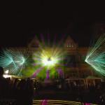 Horn leuchtete mit LightArt Show! Impressionen