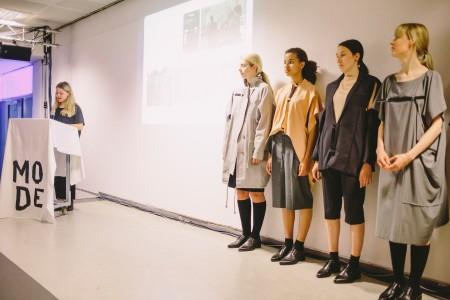 Präsentation der Gewinnerin für die beste Absolventenarbeit (Katharina Münch) Merle Burgey