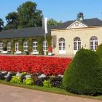 Ruhe und Erholung findet man  im Gräflichen Park Bad Driburg