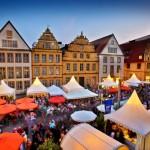 Weindorf-Flair in der Bielefelder Altstadt