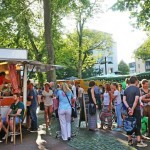 Bielefelder Abendmarkt war 2016 wieder Besuchermagnet