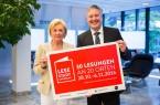 Freuen sich auf spannende zehn Tage: Liz Mohn und Bürgermeister Henning Schulz.Foto:Stadt GT
