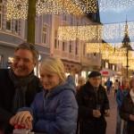 Mittlere Berliner Straße im Lichterglanz
