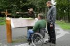 Foto-Shooting im Barrierefreien Natur-Erlebnisraum Wilder Kermeter am 20.09.2011