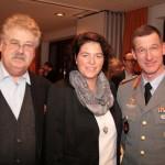 Einmaliges Zusammentreffen zweier Spitzenkandidaten aus Militär und Politik