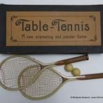 "Objekt im Fokus ""Table Tennis – Set, 19. Jh."""