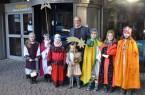 Sternsingen besuchen stellvertretenden Bürgermeister Steinmetz
