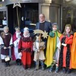 Sternsinger besuchen das Mindener Rathaus