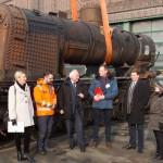 """Arbeiten an der Dampflok """"Lipperland"""" beginnen jetzt mithilfe der NRW-Stiftung"""