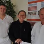 Patient spendet der Klinik für Orthopädie nach Hüftoperation 5.000 Euro