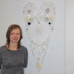 Kunst im Standesamt: Neue Ausstellung von Karin Wolf