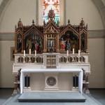 LWL zeichnet neoromanischen Altaraufsatz in Paderborn als Denkmal des Monats aus