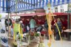 Frühjahrsmarkt im Kurzentrum .