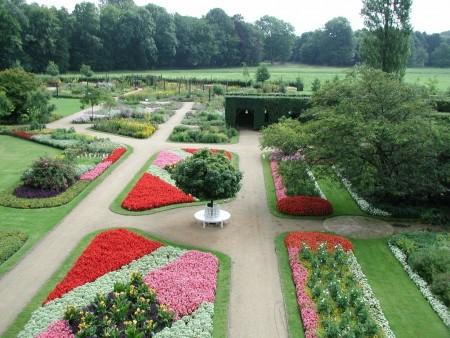 Botanischer Garten Luftbild © Fachbereich Zentrale Öffentlichkeitsarbeit-1