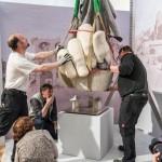 Kunsttransport aus Rom angekommen