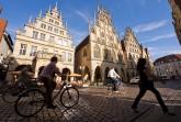 Im historischen Rathaus ist der mit reichem Schnitzwerk versehene Friedensaal zu besichtigen. ©-Foto-Oliver-Franke-Tourismus-NRW-e.V.
