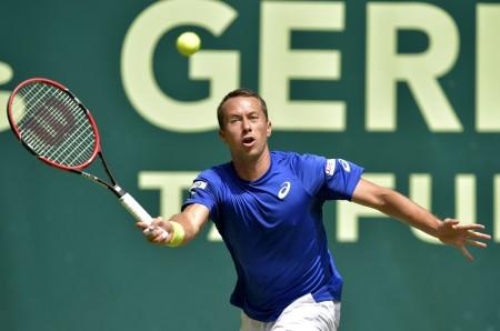 sowie der deutsche Davis Cup-Spieler Philipp Kohlschreiber … © GERRY WEBER OPEN_KET (HalleWestfalen)