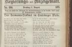 Lippische Landes-Zeitung ist die älteste noch erscheinende Tageszeitung  Nordrhein-Westfalens