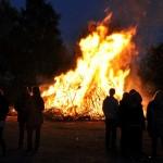 Osterfeuer: Auch Traditionsfeuer rechtzeitig anmelden