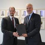 NRW- Wirtschaftsminister Garrelt Duin übergibt Förderbescheide zur Tourismusentwicklung im Teutoburger Wald