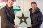 Für seine elf Shows im GERRY WEBER STADION in HalleWestfalen wurde Florian Silbereisen von Ralf Weber  mit einem Stern geehrt © André Havergo