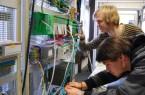 Bildungsangebote mit Zukunft: Ein Leitziel befasst sich mit der Bildungsregion Lippe, hier die praxisorientierte Ausbildung am Felix-Fechenbach-Berufskolleg in Detmold.