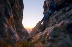 Die Bruchhauser Steine liegen oberhalb von Bruchhausen auf dem 727 m hohen Istenberg. Die vier großen Porphyrfelsen sind Eckbastionen einer großen vorgeschichtlichen Befestigung. Heute sind sie ein beliebtes Besuchsziel mit einer atemberaubende Aussicht über weite Teile des Sauerlandes. © Oliver Franke /Tourismus NRW e.V.