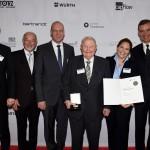 Helmut Claas mit der Dieselmedaille ausgezeichnet