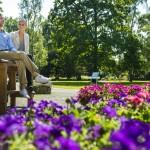 Pünktlich im April beginnt die Kurparksaison im Hortus Vitalis und im Landschaftsgarten.