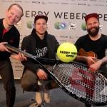 Tennistainment-Feuerwerk der Superlative zum Turnierjubiläum