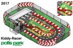 Kiddy-Racer im Potts-Park.