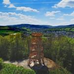 Aussichtsturm im LWL-Freilichtmuseum Detmold am Sonntag eröffnet