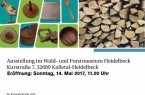 Holz-Plakat
