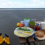 Ein Frühstück auf dem Meeresboden
