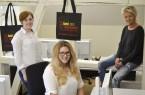 Ab sofort in neuen Räumlichkeiten (von links): Annalena Schaefer, Stella Müller und Birgit Dabbert vom Veranstaltungsmanagement der Lippe Tourismus & Marketing GmbH.