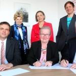 Neue Kooperationsvereinbarung sichert Förderung auf hohem Nivea