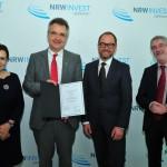 Staatssekretär Horzetzky zeichnet geprüfte NRW-Wirtschaftsförderer aus