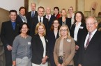 Vier Bielefelder Unternehmen für ihre familienbewusste Personalpolitik ausgezeichnet.Foto Stadt Bielefeld