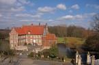 Die Burg Hülshoff bei Havixbeck. Foto: Droste Stiftung